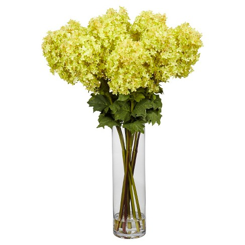 Nearly natural giant hydrangea silk flower arrangement target about this item mightylinksfo