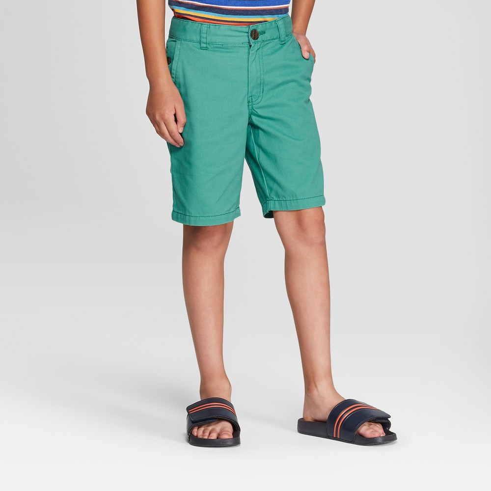 Boys' Chino Shorts - Cat & Jack Green 8