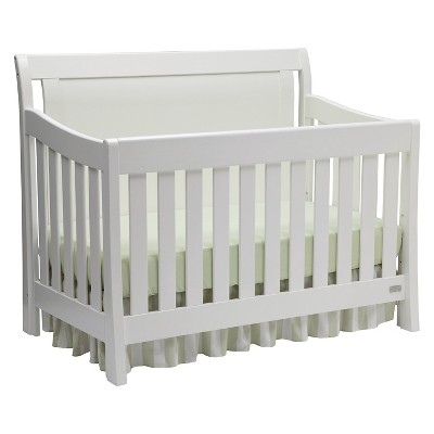Delta Children® Simmons Kids SlumberTime Madisson Convertible Crib 'N' More - White Ambiance