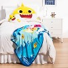 Baby Shark Musical Throw and Pillow - image 2 of 4