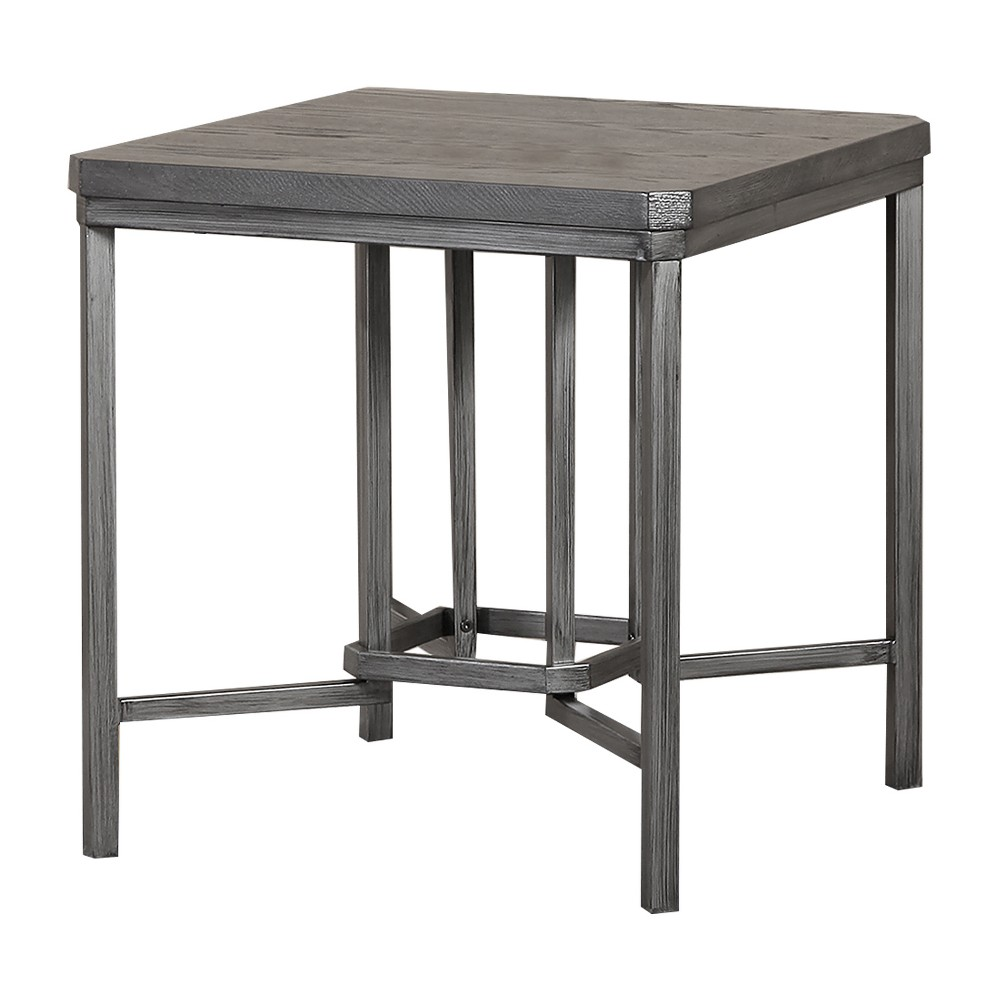 End Table Gray - Home Source Industries