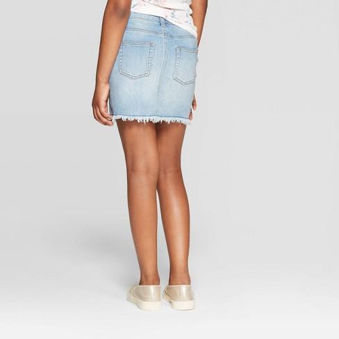 5a2d193c26ba Girls' Denim Skirt - Art Class™ Blue : Target