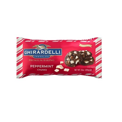 Baking Chips & Chocolate: Ghirardelli Peppermint Chunks