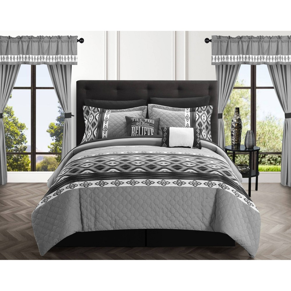 Promos 20pc Sevrin Comforter Set  - Chic Home Design