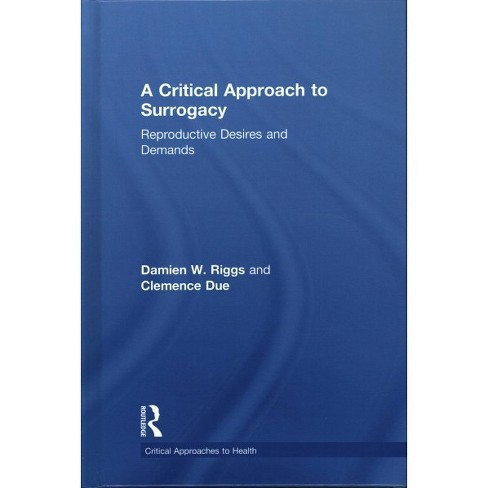 Critical Approach to Surrogacy : Reproductive Desires and Demands (Hardcover) (Damien W. Riggs & - image 1 of 1
