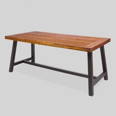 Carlisle Rectangular Acacia Wood Dining Table - Christopher Knight Home