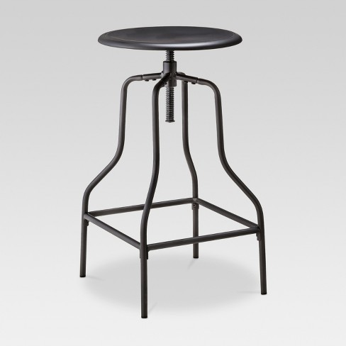c6f99d209919 Industrial Swivel Barstool - Black - Threshold™   Target