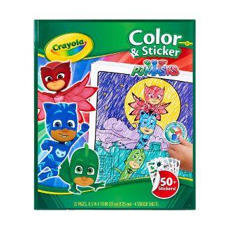 Crayola Color & Sticker - PJ Masks