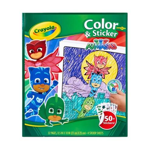 Crayola Color & Sticker - PJ Masks - image 1 of 4