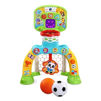 VTech Count & Win Sports Center with Basketball and Soccer Ball