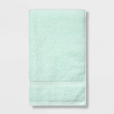 Soft Solid Hand Towel Mint Green - Opalhouse™