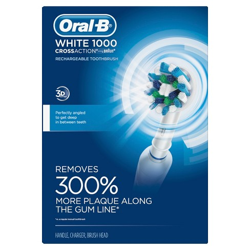 Oral-B Pro Crossaction 1000 Rechargeable Electric Toothbrush - image 1 of 4