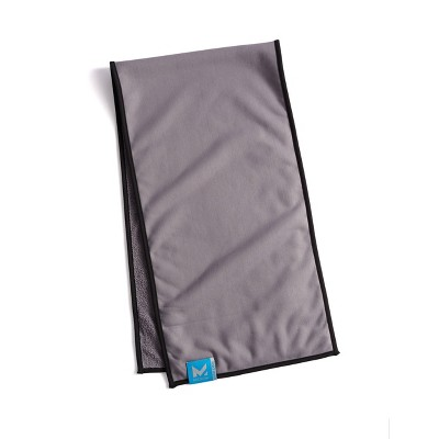 Mission Dual Action Fitness Towel - Charcoal