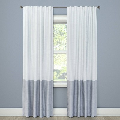 Blackout Curtain Panel Color Block Gray 63  - Project 62™