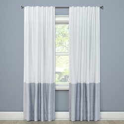 Blackout Color Block Curtain Panel - Project 62™