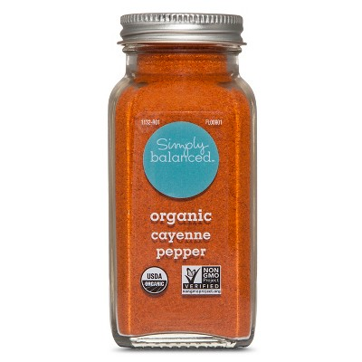 Organic Ground Cayenne Pepper - 2.8oz - Simply Balanced™