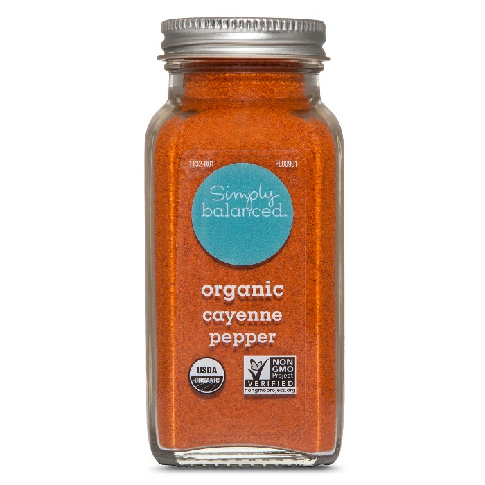 Organic Ground Cayenne Pepper - 2.8oz - Simply Balanced™ - image 1 of 1