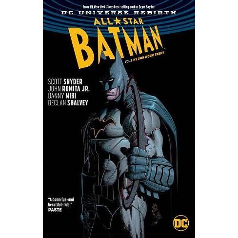 All-Star Batman Vol. 1: My Own Worst Enemy (Rebirth) - by  Scott Snyder (Paperback) - image 1 of 1