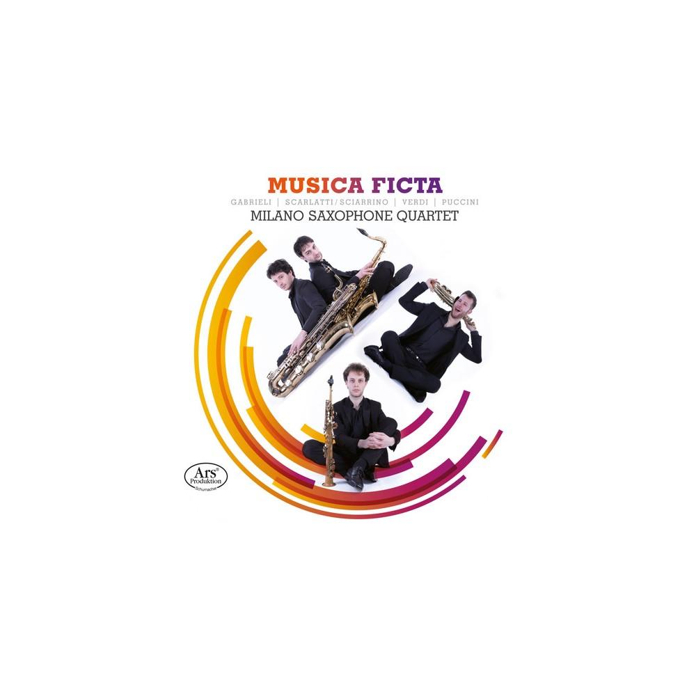 Milano Saxophone Qua - Musica Ficta (CD)