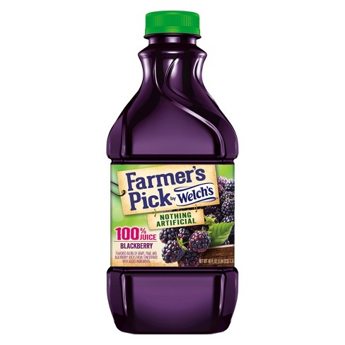 Welch's Farmer's Pick Blackberry Juice - 46 fl oz Bottle - image 1 of 1