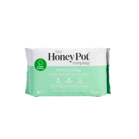 The Honey Pot Herbal Pantyliners - 30ct - image 1 of 4