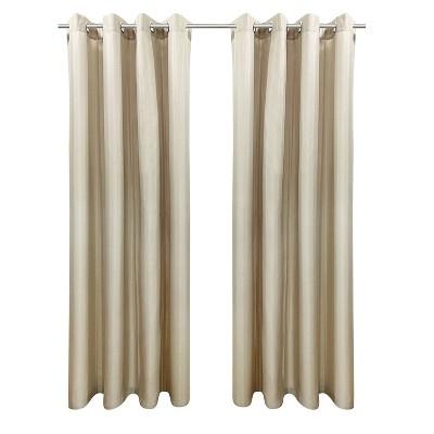 Set of 2 Bimini Grommet Top Curtain Panels - Outdoor Décor