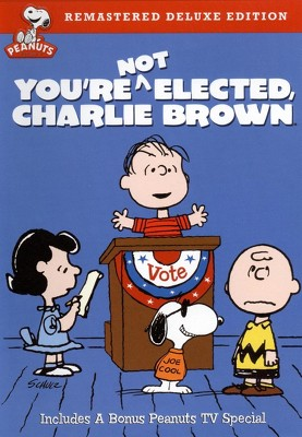 You're Not Elected, Charlie Brown (Deluxe Edition) (DVD)