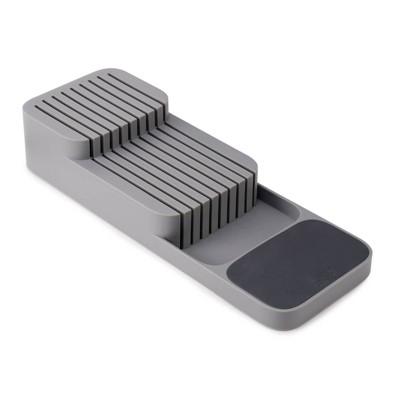 Joseph Joseph DrawerStore Compact Knife organizer- Gray