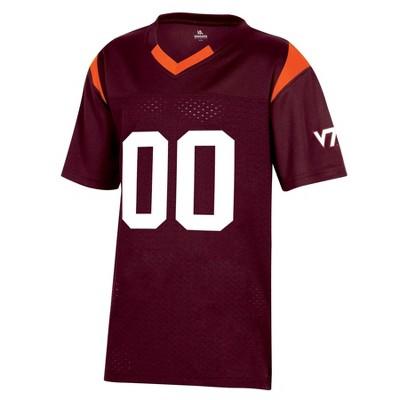 NCAA Virginia Tech Hokies Boys' Short Sleeve Jersey