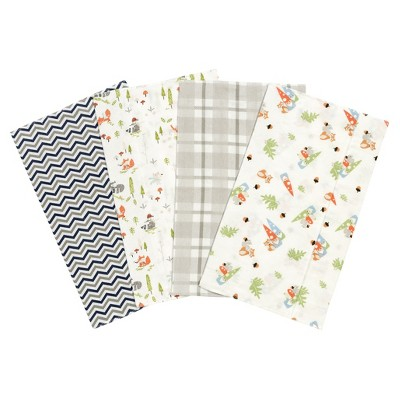 Trend Lab Burp Cloth Set Green