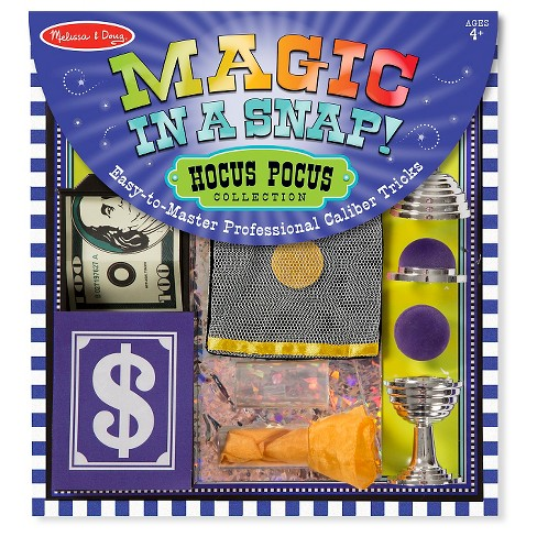 Melissa & Doug® Magic in a Snap Hocus-Pocus Collection - image 1 of 5