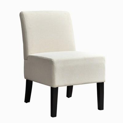 Samantha Modern Armless Slipper Chair - AC Pacific