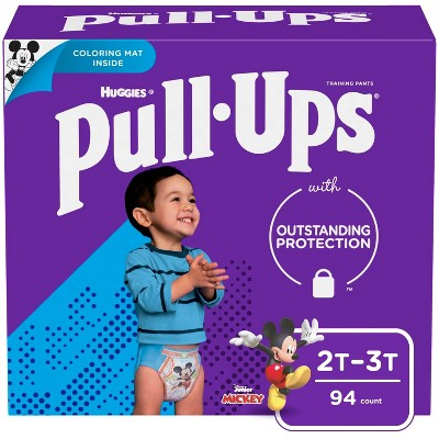 Huggies Pull Ups Boys' Potty Training Pants - Size 2T-3T - 94ct