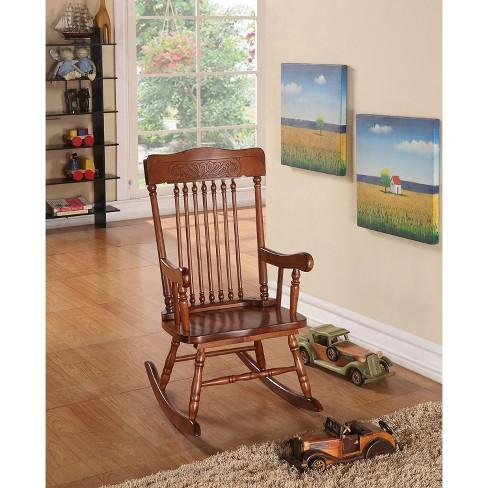 Acme Furniture Kids Rocking Chair Tobacco Target