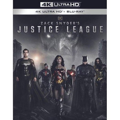 Zack Snyder's Justice League (4K/UHD + Blu-ray)