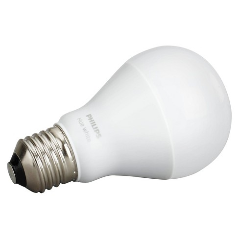 Philips - Hue A19 White 60W Equivalent Smart LED Bulb : Target