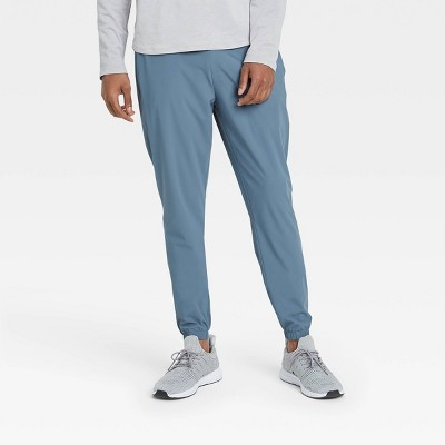 Men's Lightweight Run Pants - All in Motion™ Blue Gray S