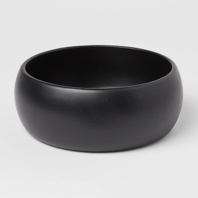 54oz Acacia Modern Serving Bowl Black - Threshold™