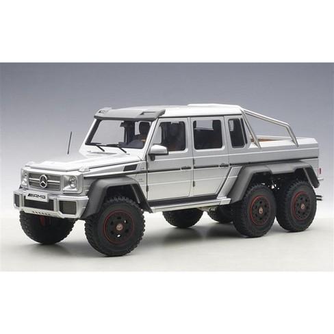 mercedes g63 amg 6x6 silver 1/18 model carautoart : target