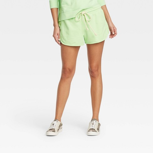Women's Mid-Rise French Terry Pull-On Shorts - Universal Thread™ - image 1 of 3