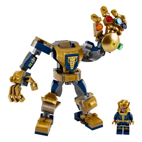LEGO Marvel Avengers Thanos Mech 76141 Cool Action Building Toy image number null
