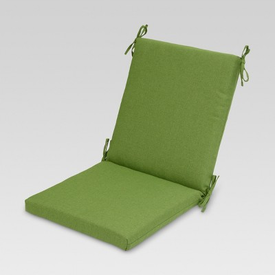 Outdoor Sectioned Chair Cushion - Green - Threshold™