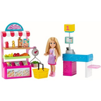 Barbie Chelsea Can Be Doll & Snack Stand Playset