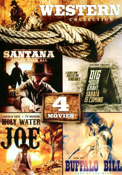 4 movie western collection (DVD) - image 1 of 1