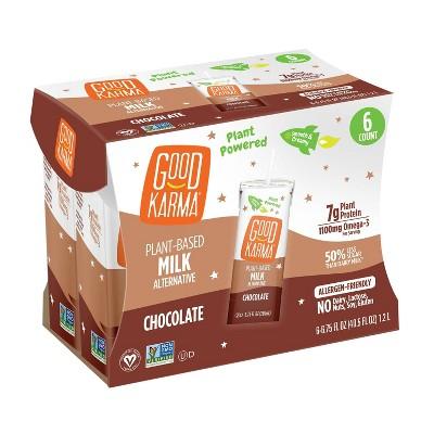 Good Karma Chocolate Flaxmilk - 6pk/6.75 fl oz Carton
