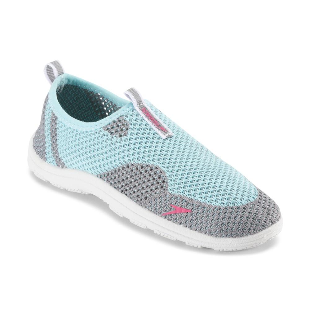 Speedo Junior Girls Surfknit Water Shoes - Seafoam (Medium), Green