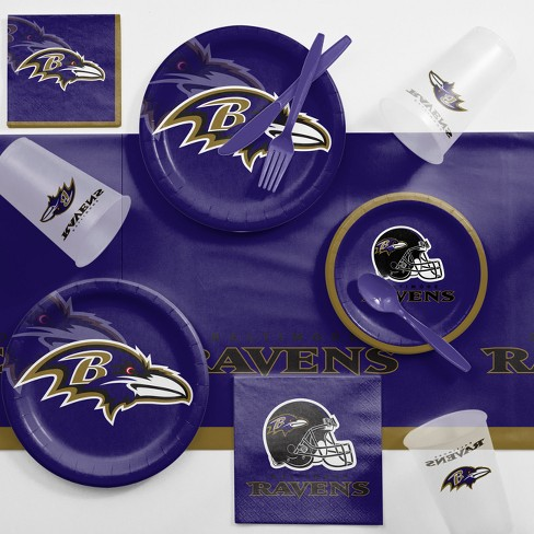 NFL Navy Blue Baltimore Ravens Game Day Party Supplies Kit - image 1 of 1