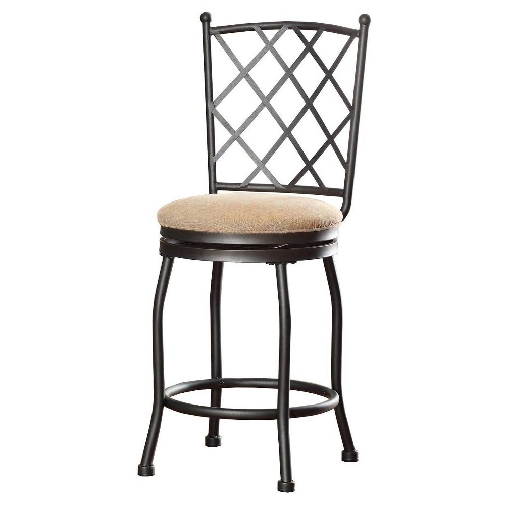 "Image of ""24.5"""" Tristan Metal Counter Stool - HomePop"""