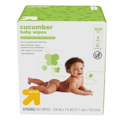Baby Wipes Cucumber - 500ct - Up&Up™