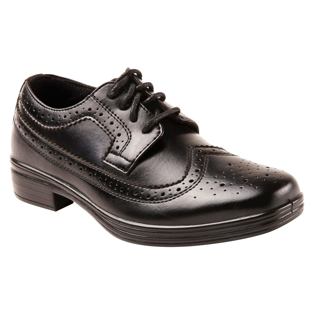 Image of Boys' Deer Stags Ace Oxford Oxfords - Black 1, Boy's